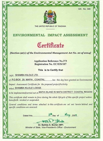 Nenc Certificate
